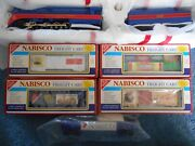 Mth Railking 4-8-4 Nabisco Gs-4 Steam Engine 30-1131-0 And 5 Cars Brand New