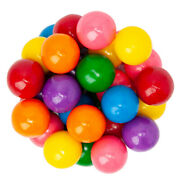 Assorted Candy Gumball 1/2 Size - Fresh - 1/4lb To 10lbs Bulk - Free Shipping