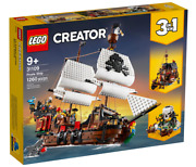 New Lego Creator 31109 Pirate Ship 3 In 1 1260 Pieces Free Fast Shipping✅✅✅✅✅✅