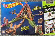 Hot Wheels Track Builder Volcano Blast Track Set - Brand New And Boxed