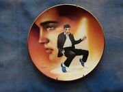 Elvis Plates In Collectable Graceland Tin