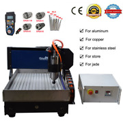 Steel Structure Cnc Router 6040 3axis 2.2kw Cnc Engraving Machine Andhandwheel Diy