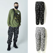 A Bathing Ape Menand039s Digital Camo 6pocket Pants 2colors From Japan New