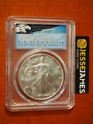 2018 W Burnished Silver Eagle Pcgs Sp70 Cleveland First Day Of Issue Dc Pop 10