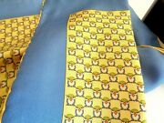 New Without Tag Salvatore Ferragamo Silk Pocket Square Made Italy Tag 150.00
