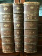 1878 Battles Of America By Sea And Land Bios Of Naval Military Commanders 3 Vols