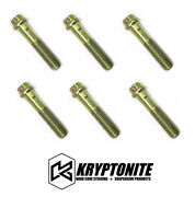 Kryptonite 6 Wheel Bearing Spindle Bolts For 1999-2018 Chevy/gmc 1500 6 Lug
