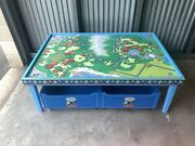 Learning Curve Thomas And Friends Wooden Railway Island Train Table
