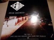 The Firm Mean Business Poster Album Ad 24 X 34 Inches Jimmy Page Paul Rodgers
