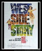 West Side Story Style A 4x6 Ft Vintage French Grande Original Movie Poster 1961