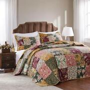 Greenland Home Fashions Antique Chic Bedspread Set 2 Pc Twin Bedroom Home Decor