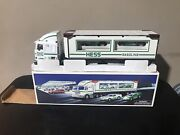 Vintage 1997 Hess Toy Truck And Racers New In Box With Original Packaging