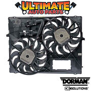 Radiator Cooling Fan 5.0l V10 For 06-08 Touareg Warm / Tropical Zones