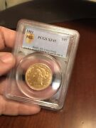 1881 10 Gold Liberty Coin Pcgs Xf45