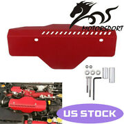 Alternator Pulley And Belt Cover For Subaru Wrx And Sti 02-17 Red Us Stock