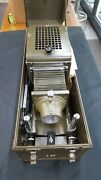 Rare U.s. Army Signal Corps Still Picture Projector And Accessories
