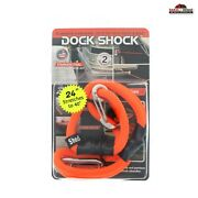 2pc Anchor Shock Dock 24 Cable Boat Pontoon Tie Down New