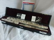 Yamaha Sterling Silver Flute 482h Ships New Sealed In Mfg Box