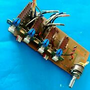 Sansui Au D11 Amp Out Parting Switch Potentiometer F 3253 Board Free Shipping