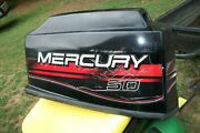 1997 Mercury 40hp 50 Outboard 3cyl Engine Hood Cover
