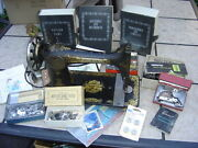 Huge Lot Of Antique Sewing Machine Items