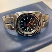 Seiko 5 Sports 7s36-0070 Day Date Stainless Steel 23 Jewels Automatic Mens Watch