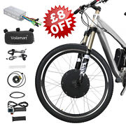 48v1000w Front Electric Bicycle Motor Conversion Kit Ebike Wheel Cycling Hub 26