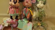 Disney Minnie Mouse The Main Attraction March April May Plush And Ears Lot Of 6x