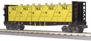 Mth 30-76606 Pandle Bulkhead Flatcar / Lcl Containers Railking Rd 42315