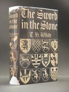 T.h. White The Sword In The Stone 1938 1st Edition/1st Imp Original Dust Jacket
