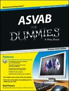 Asvab For Dummies By Consumer Dummies Staff And Rod Powers 2013, Paperback /...
