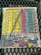 Childcraft City Construction Site Wood Tray Puzzle 1964
