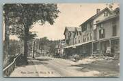 Main Street Mt. Kisco New Yorkwestchester County Antique Postcard Stoves 1909