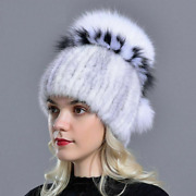 Fur Beanies Warm Winter Hat Womenand039s Head Wear Thick Stylish Cap Comfortable Caps