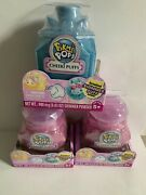 New Lot 3 Pikmi Pops Surprise Cheeki Puffs Scented Shimmer Puff