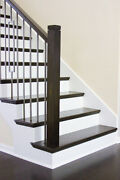 Retrofit Stair Tread Kits For Removing Carpet And Adding Wood Tread To Your Stairs