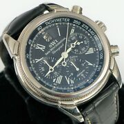 Swi Swiss Watch International Stainless Steel Menand039s Chronograph Limited Edition