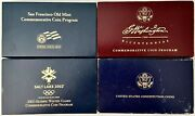 4- Gold/silver Coin Sets Please See Other Gold And Silver Coins
