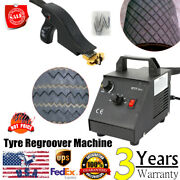 Manual Tire Regroover Truck Car Tires Grooving Iron W/blades Truck/sprint Car