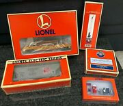 Lionel Trains O/o-27 Scale Cars / Road Signs / Pewter Figures / Semaphore Boxed