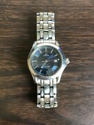 Omega Seamaster 1501-823 Stainless Gold Emblem Clasp Needs Battery Bought In2000