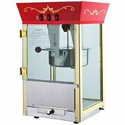 Great Northern Popcorn Company 83-dt5628x 6091 Red Antique Popper Machine, Andamp