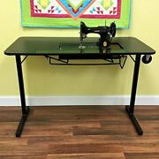 Arrow Sewing Cabinets Arrow Heavyweight Table For Vintage Singer Featherweigh...