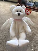 Halo Beanie Baby 1998 Brown Nose Tag Errors Mint Condition