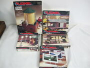 Lionel Water Tower 6-12711 Billboard Lumber Shed Freight Platform 0- 027 Guage