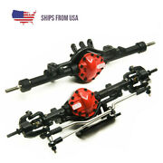 Cnc Alloy Front And Rear Axle For Rc 4wd Defender Gelande D90 110 Rc Rock Crawler