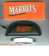 Marbles Pearl Sowbelly Folding Knife/knives - Mr120 - New In Box