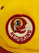 Rare Vintage Washington Redskins Hat - With Old 60and039s Logo Patch - Read