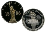 Statue Of Liberty 1886 Commemorative Gold - Accented Coin Value 79.95