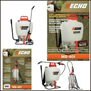 Backpack Sprayer Lawn Pump 4 Gal Garden Chemical Tank Wand Pump Padded Strap New